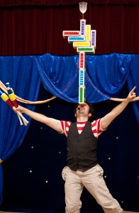Jason Kollum, Juggler, Stilt-Walker and Balloon-Twister
