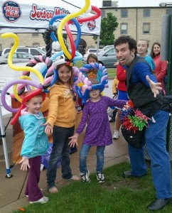 Jason Kollum, Juggler, Stilt-Walker, and Balloon Twister